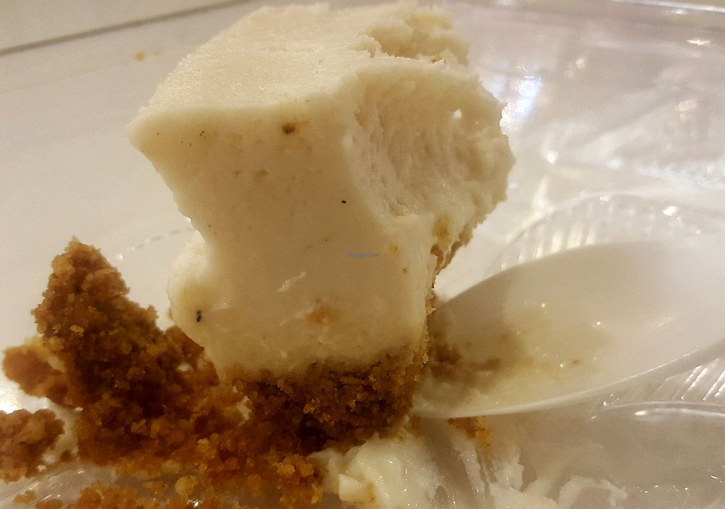 """Photo of Loving Hut - Westfield Mall Food Emporium  by <a href=""""/members/profile/ChantalMeller"""">ChantalMeller</a> <br/>cheese cake  <br/> October 3, 2017  - <a href='/contact/abuse/image/21790/311219'>Report</a>"""