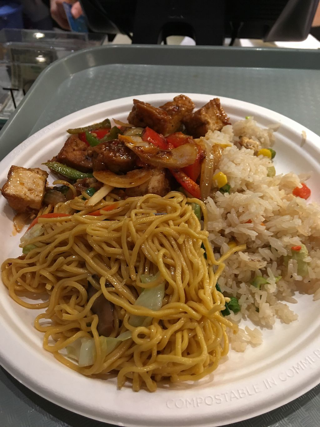 """Photo of Loving Hut - Westfield Mall Food Emporium  by <a href=""""/members/profile/dvcucsc"""">dvcucsc</a> <br/>9.95 <br/> December 14, 2017  - <a href='/contact/abuse/image/21790/335377'>Report</a>"""