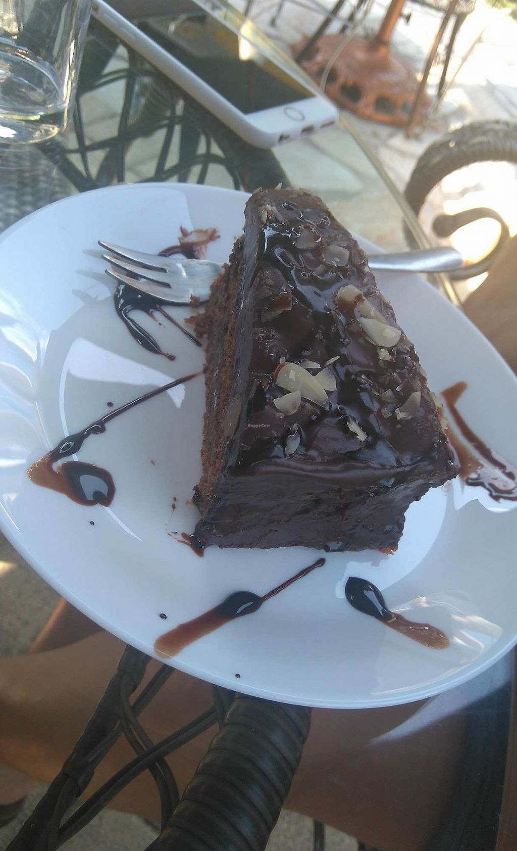 """Photo of Loving Hut - Lake Klopein  by <a href=""""/members/profile/BarbaraLenart"""">BarbaraLenart</a> <br/>Awesome chocolate cake! <br/> August 12, 2017  - <a href='/contact/abuse/image/21791/291855'>Report</a>"""