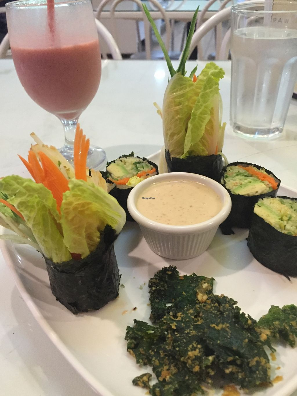"Photo of Loving Hut - Tampa  by <a href=""/members/profile/ijk"">ijk</a> <br/>Raw vegetable sushi <br/> March 2, 2016  - <a href='/contact/abuse/image/21794/138552'>Report</a>"