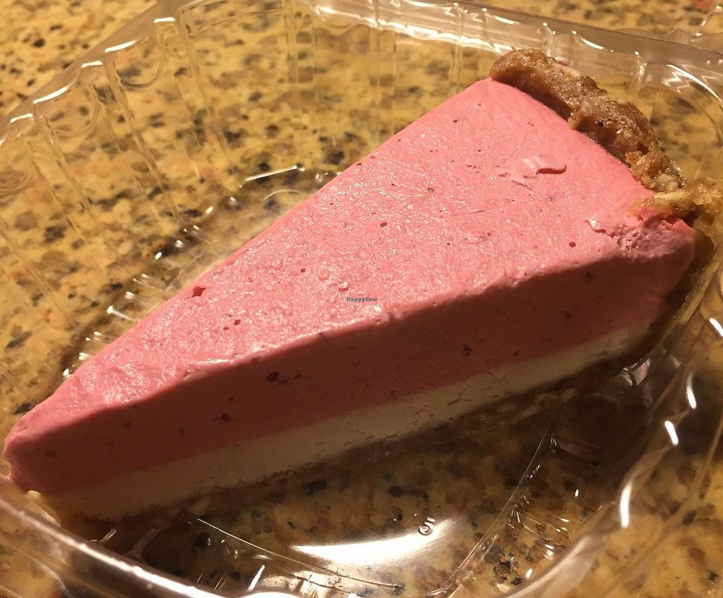 "Photo of Loving Hut - Tampa  by <a href=""/members/profile/ijk"">ijk</a> <br/>raw vegan strawberry 'cheesecake' ... oh, yeah! <br/> March 2, 2016  - <a href='/contact/abuse/image/21794/197620'>Report</a>"