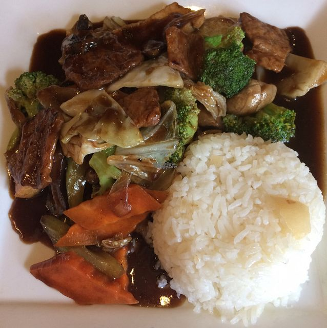 """Photo of Vegan Kitchen  by <a href=""""/members/profile/alymar18"""">alymar18</a> <br/>stir fried veggies <br/> September 25, 2016  - <a href='/contact/abuse/image/21811/177945'>Report</a>"""