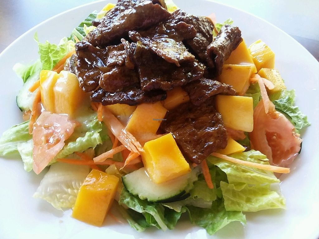 """Photo of Vegan Kitchen  by <a href=""""/members/profile/mshelene"""">mshelene</a> <br/>mango salad <br/> March 25, 2018  - <a href='/contact/abuse/image/21811/376065'>Report</a>"""