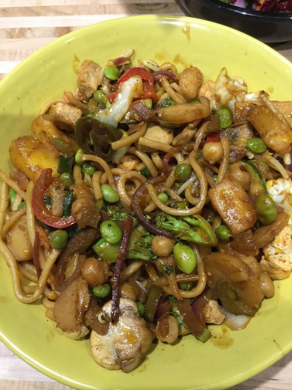 """Photo of The Good Food Store  by <a href=""""/members/profile/J%20and%20J"""">J and J</a> <br/>Wok bowl vegan <br/> February 27, 2016  - <a href='/contact/abuse/image/2185/137997'>Report</a>"""