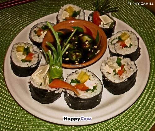 """Photo of CLOSED: Osa Mariposa  by <a href=""""/members/profile/Veghead69"""">Veghead69</a> <br/>My sushi plate! <br/> July 23, 2013  - <a href='/contact/abuse/image/21895/51986'>Report</a>"""