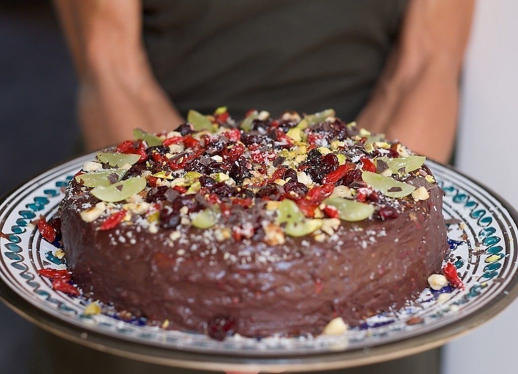 "Photo of Under The Lime Tree  by <a href=""/members/profile/Under%20The%20Lime%20Tree"">Under The Lime Tree</a> <br/>Celebration vegan strawberry cake <br/> March 20, 2018  - <a href='/contact/abuse/image/21909/373255'>Report</a>"
