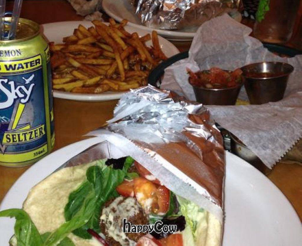 """Photo of La Cocina de Luz  by <a href=""""/members/profile/Azang"""">Azang</a> <br/>falafel and fries ordered from the caravaan next door. delicious <br/> February 5, 2013  - <a href='/contact/abuse/image/21921/191347'>Report</a>"""