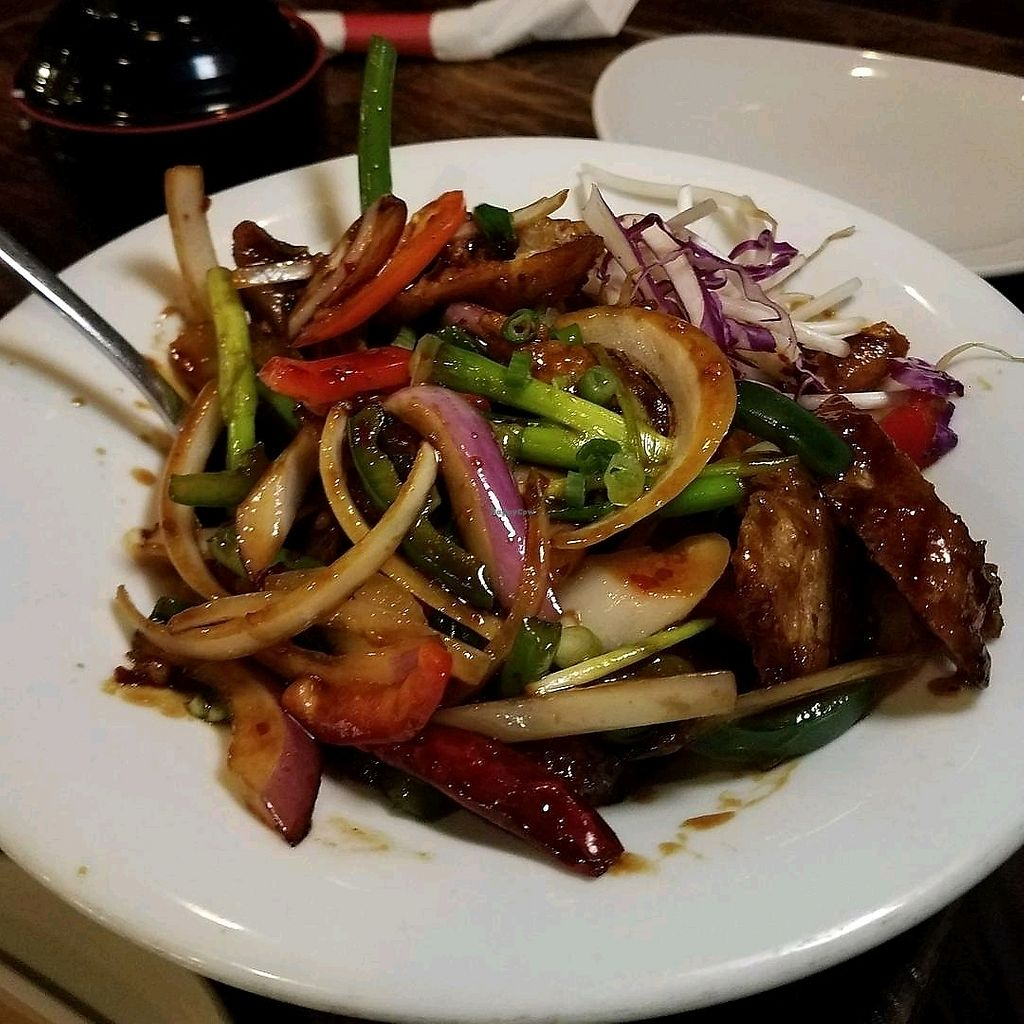 """Photo of Shanghai Mama's  by <a href=""""/members/profile/Silly%20Little%20Vegan"""" class=""""title__title"""">Silly Little Vegan</a> <br/>Mongolian Faux Ribs <br/> December 3, 2017  - <a href='/contact/abuse/image/21934/331923'>Report</a>"""