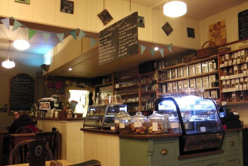 """Photo of Hundred Monkeys Cafe  by <a href=""""/members/profile/trinitybourne"""">trinitybourne</a> <br/>A nice friendly rustic vibe, with a plethora a baked sweet treats and good breakfast, lunch & dinner menu with good vegan options <br/> February 8, 2014  - <a href='/contact/abuse/image/21952/63905'>Report</a>"""
