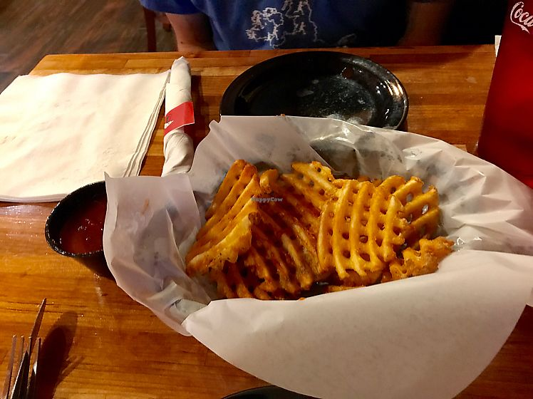 """Photo of Mac's Pizza Pub  by <a href=""""/members/profile/kjconrad88"""">kjconrad88</a> <br/>Waffle fries ? <br/> June 22, 2017  - <a href='/contact/abuse/image/21956/272418'>Report</a>"""