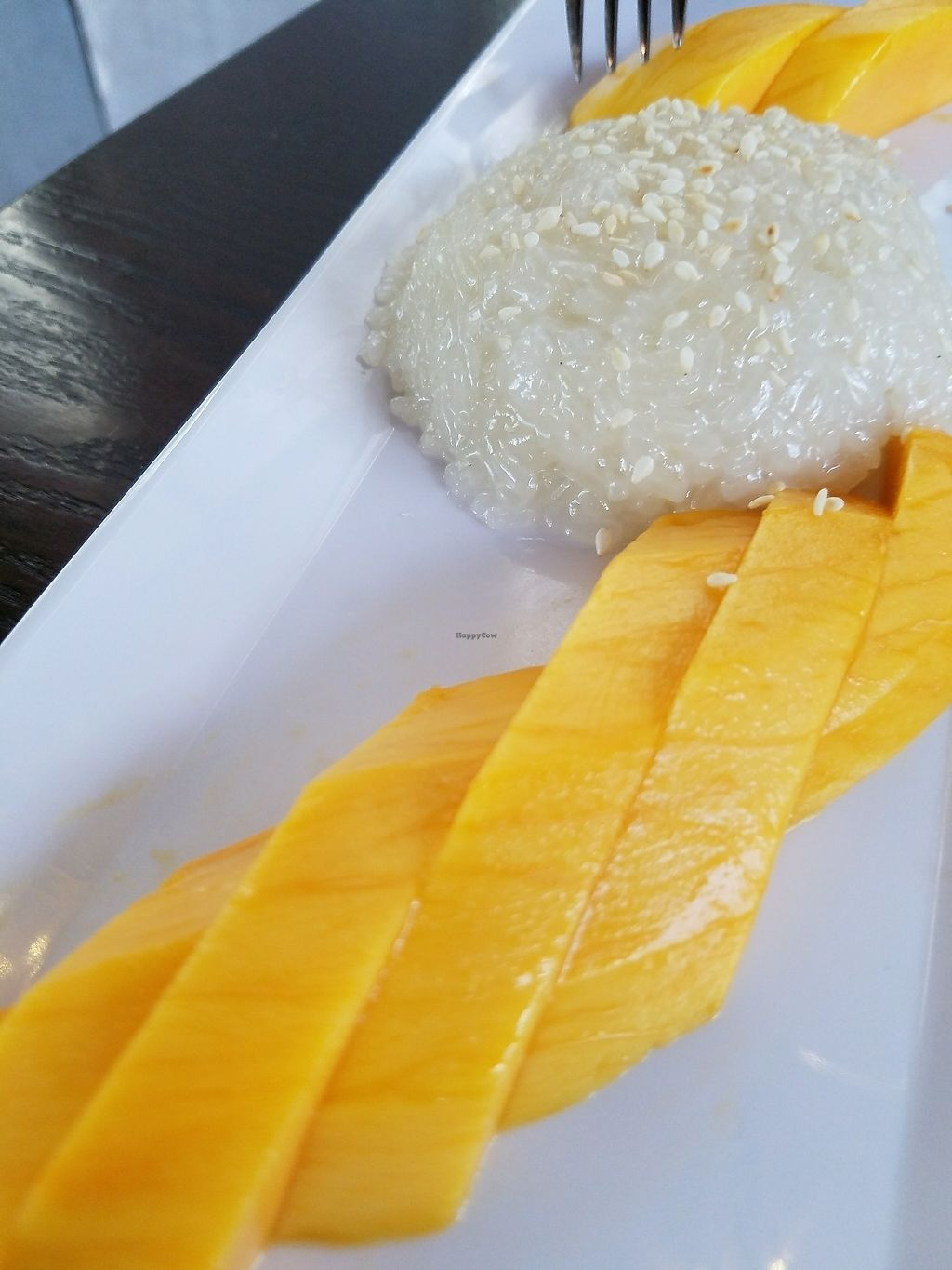 """Photo of Bodhi Thai Kitchen  by <a href=""""/members/profile/andreathinks"""">andreathinks</a> <br/>Mango Sticky Rice <br/> July 20, 2017  - <a href='/contact/abuse/image/21990/282324'>Report</a>"""