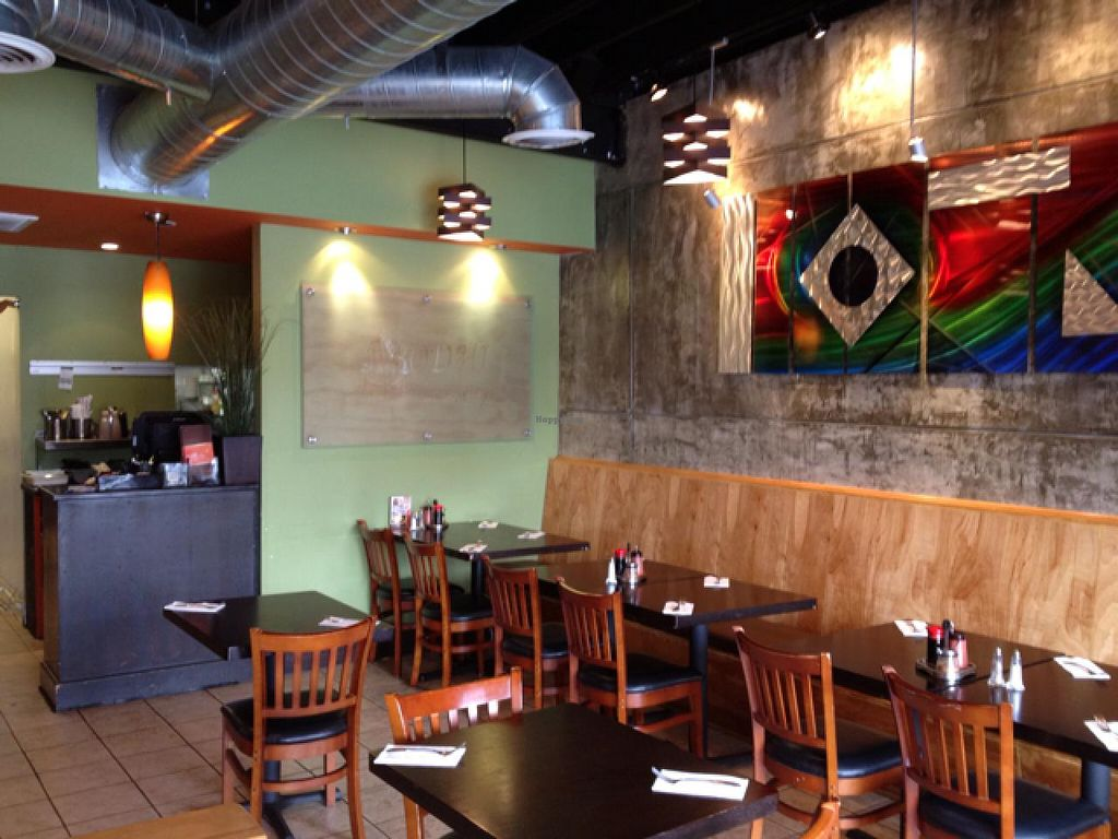 """Photo of Bodhi Thai Kitchen  by <a href=""""/members/profile/Beryl"""">Beryl</a> <br/>small but nice, huge menu!   <br/> March 4, 2014  - <a href='/contact/abuse/image/21990/65275'>Report</a>"""