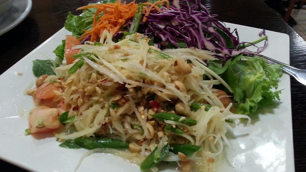 """Photo of Bodhi Thai Kitchen  by <a href=""""/members/profile/eric"""">eric</a> <br/>papaya salad <br/> November 26, 2014  - <a href='/contact/abuse/image/21990/86576'>Report</a>"""