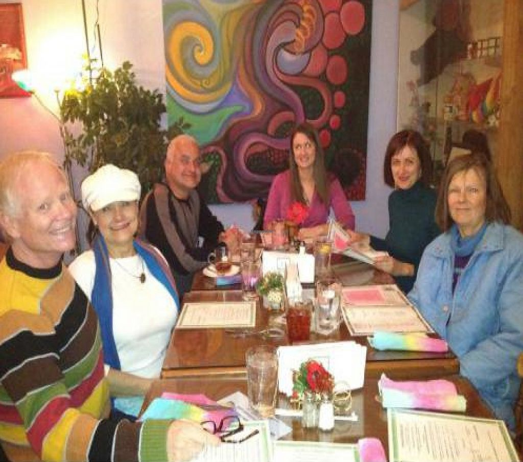 """Photo of CLOSED: Anthony's Dandelion Deli and Cafe  by <a href=""""/members/profile/Dromio"""">Dromio</a> <br/>Reno Vegans out for the monthly meal. 9 attended in December <br/> December 21, 2011  - <a href='/contact/abuse/image/2199/199653'>Report</a>"""