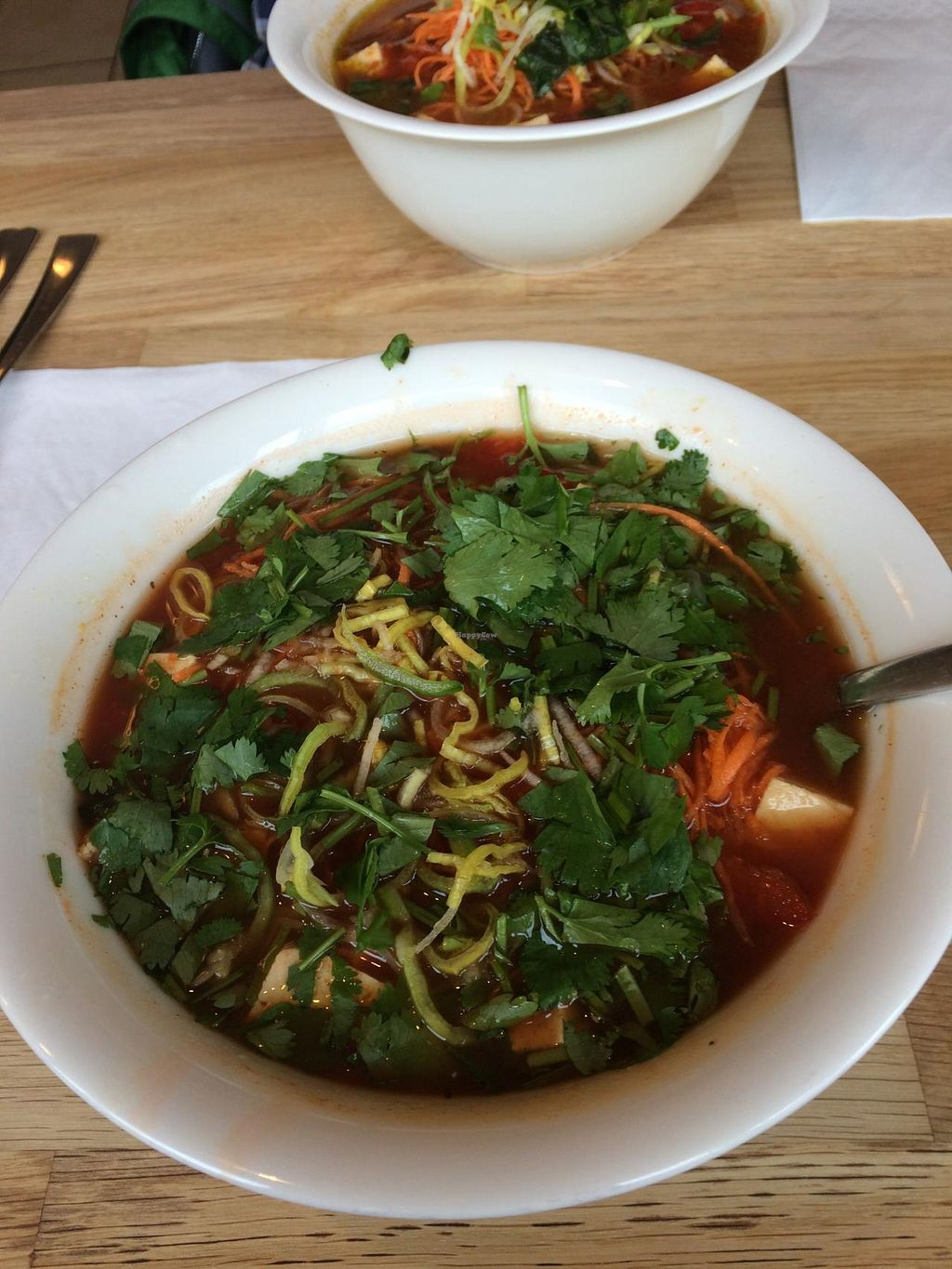 """Photo of Nudluskalin  by <a href=""""/members/profile/pdxjayhawk"""">pdxjayhawk</a> <br/>Delicious vegan noodles <br/> April 6, 2015  - <a href='/contact/abuse/image/22006/98113'>Report</a>"""