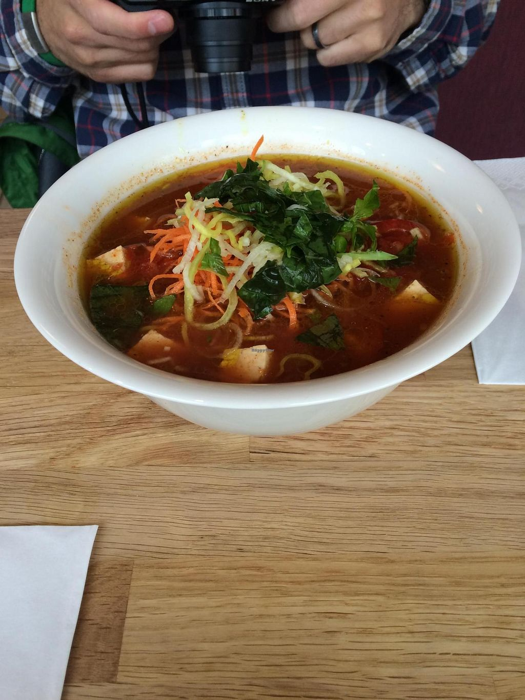 """Photo of Nudluskalin  by <a href=""""/members/profile/pdxjayhawk"""">pdxjayhawk</a> <br/>Another vegan bowl of delicious noodles <br/> April 6, 2015  - <a href='/contact/abuse/image/22006/98118'>Report</a>"""