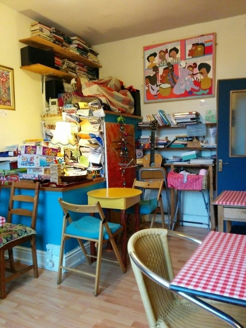 "Photo of Yaffle Cafe and Bookshop  by <a href=""/members/profile/CLRtraveller"">CLRtraveller</a> <br/>interior <br/> January 26, 2017  - <a href='/contact/abuse/image/22048/217043'>Report</a>"