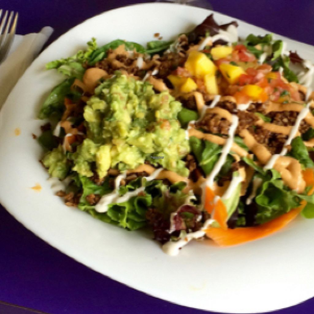 "Photo of Raw Can Roll Cafe  by <a href=""/members/profile/VeganVegabond"">VeganVegabond</a> <br/>vegan taco salad  <br/> August 7, 2016  - <a href='/contact/abuse/image/22080/224002'>Report</a>"