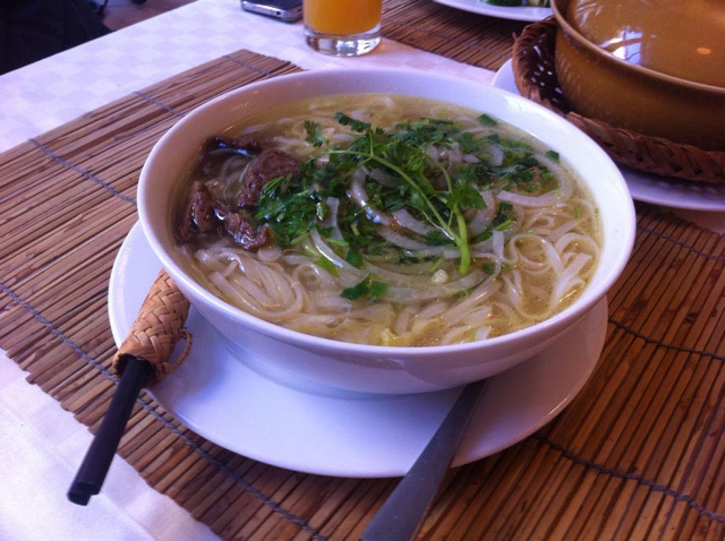 """Photo of Loving Hut  by <a href=""""/members/profile/ViktorijaGor"""">ViktorijaGor</a> <br/>noodle soup <br/> June 11, 2015  - <a href='/contact/abuse/image/22089/105440'>Report</a>"""