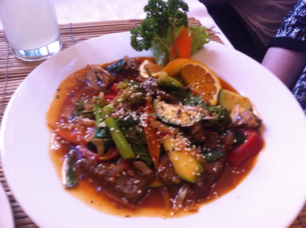 """Photo of Loving Hut  by <a href=""""/members/profile/ViktorijaGor"""">ViktorijaGor</a> <br/>a yummy dish <br/> June 11, 2015  - <a href='/contact/abuse/image/22089/105442'>Report</a>"""