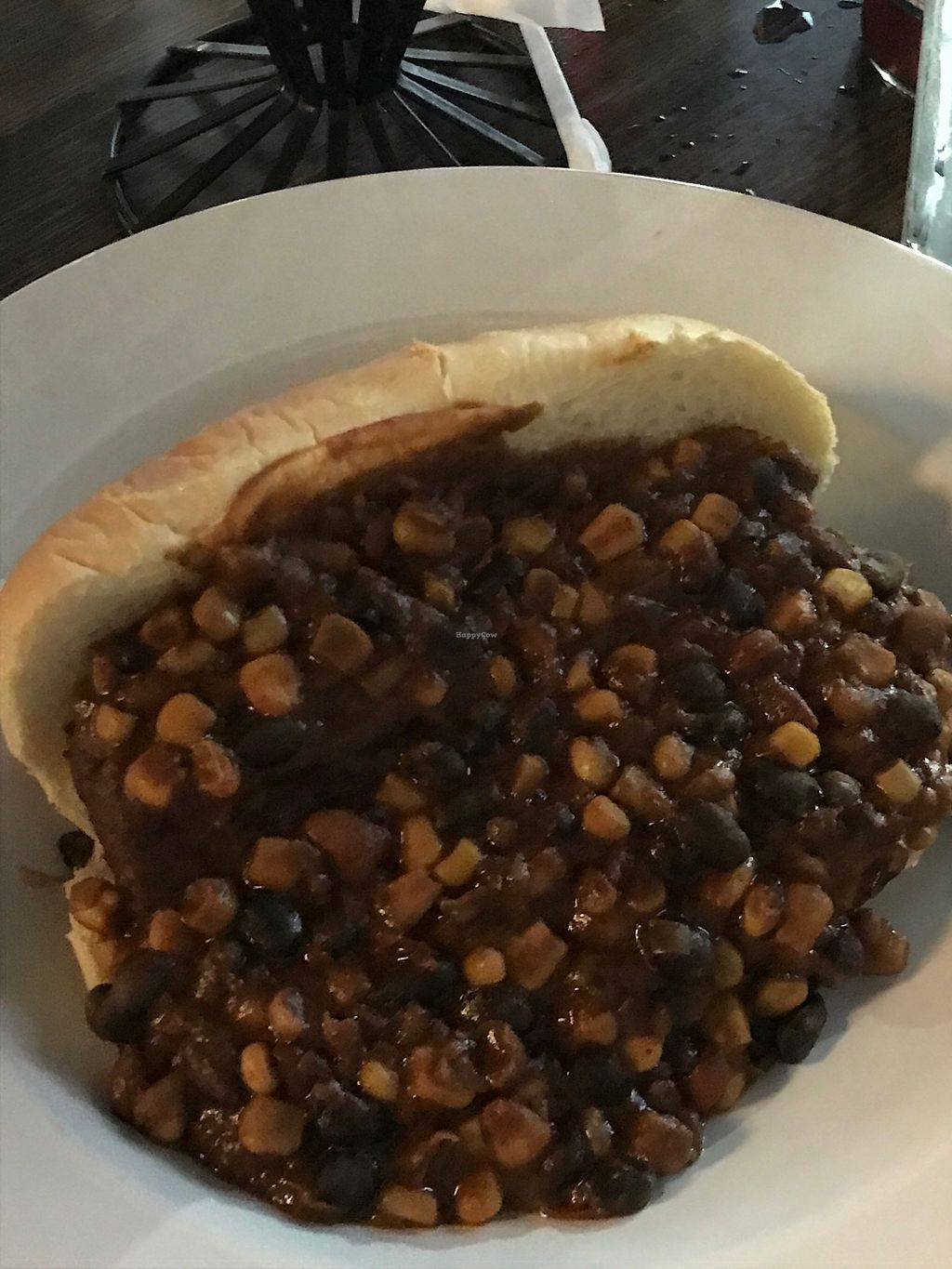 """Photo of Instant Karma Hot Dogs  by <a href=""""/members/profile/itsliangirl896"""">itsliangirl896</a> <br/>carrot dog with vegan chili <br/> July 15, 2017  - <a href='/contact/abuse/image/22096/280691'>Report</a>"""