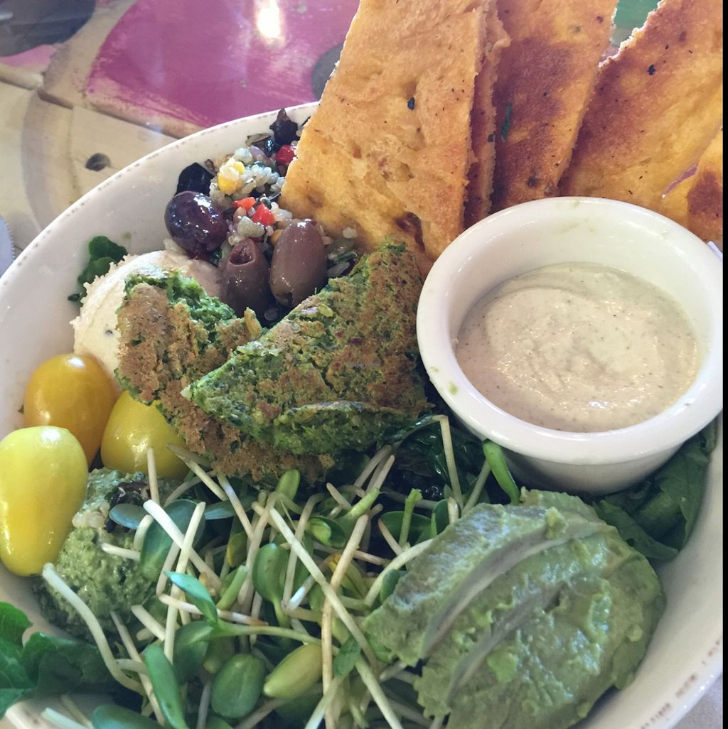"""Photo of Pomegranate Cafe - Chandler Blvd  by <a href=""""/members/profile/KenBest"""">KenBest</a> <br/>best bowl ever <br/> March 13, 2016  - <a href='/contact/abuse/image/22101/139850'>Report</a>"""