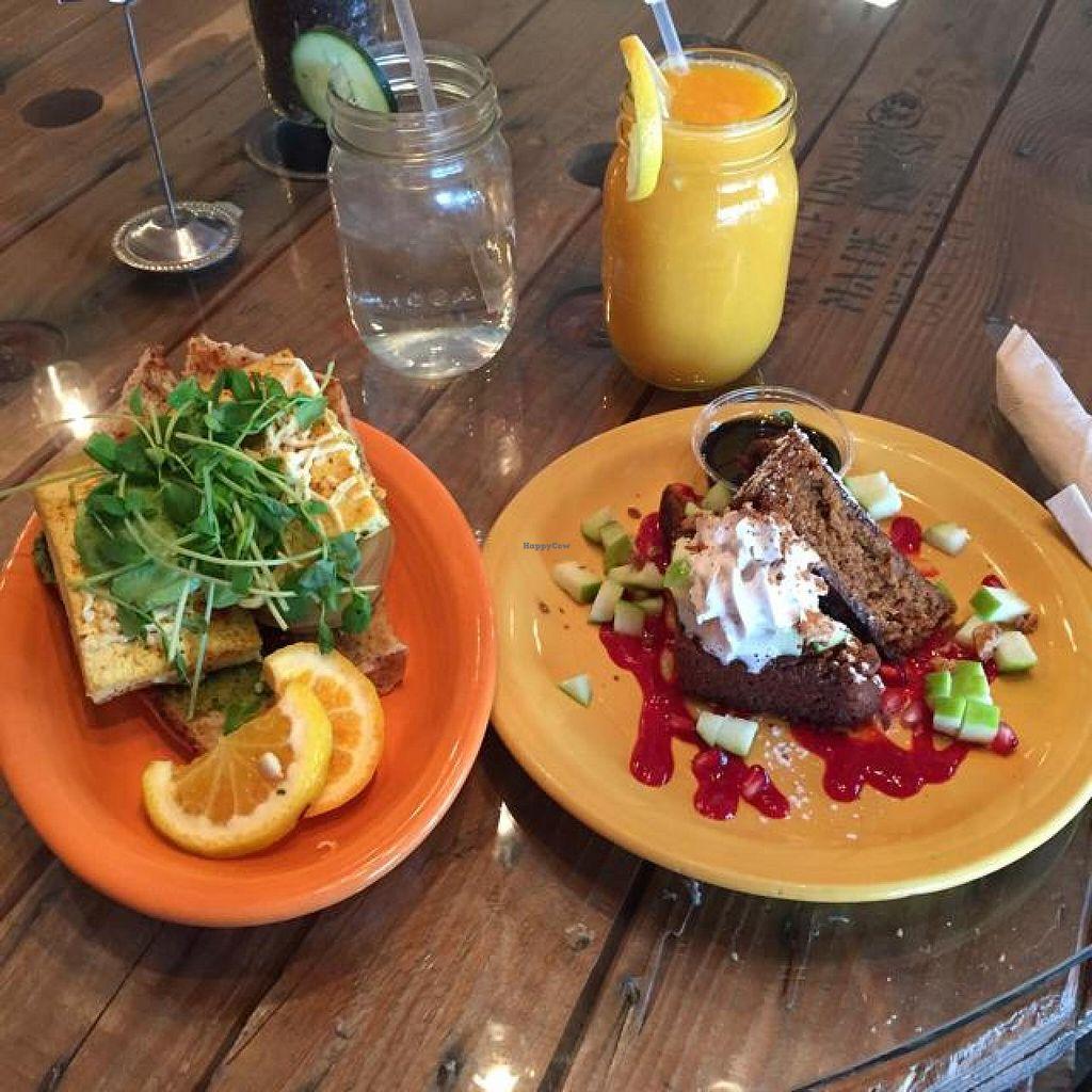 "Photo of Pomegranate Cafe - Chandler Blvd  by <a href=""/members/profile/Veganvali"">Veganvali</a> <br/>avocado sandi pumpkin French toast <br/> November 21, 2014  - <a href='/contact/abuse/image/22101/86130'>Report</a>"