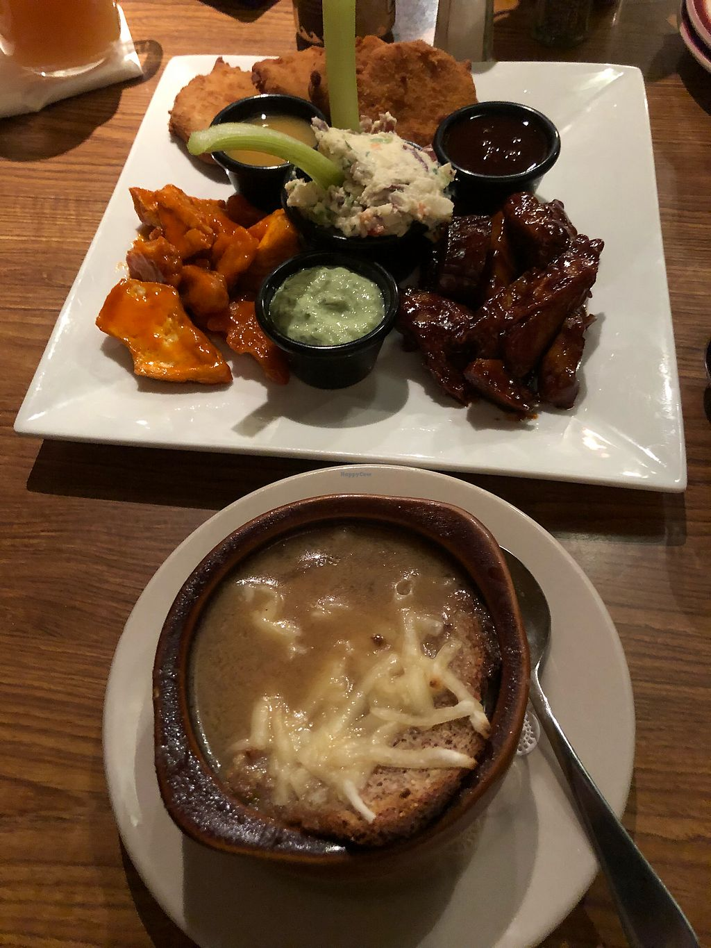 """Photo of Kaya's Kitchen  by <a href=""""/members/profile/TracyV600"""">TracyV600</a> <br/>French onion soup and Kaya's combo <br/> January 11, 2018  - <a href='/contact/abuse/image/2213/345233'>Report</a>"""