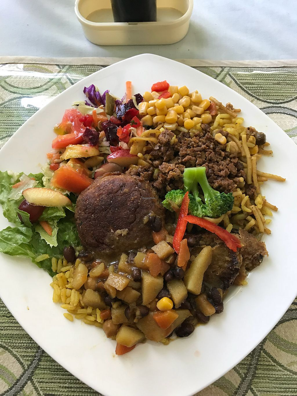 """Photo of Vegan Cottage  by <a href=""""/members/profile/BlissAlexandra"""">BlissAlexandra</a> <br/>Delicious ?  <br/> January 31, 2018  - <a href='/contact/abuse/image/22258/353159'>Report</a>"""