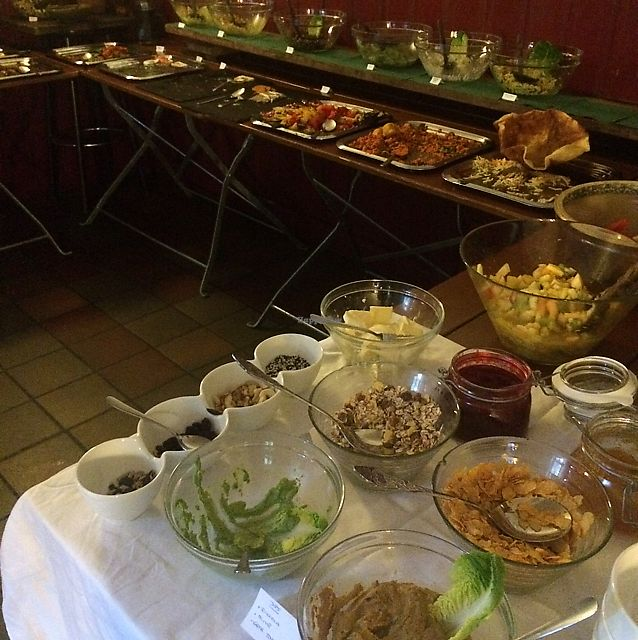 """Photo of Viasko - Bar und Restaurant  by <a href=""""/members/profile/Marieanne"""">Marieanne</a> <br/>great variety of food  <br/> July 1, 2017  - <a href='/contact/abuse/image/22272/275693'>Report</a>"""