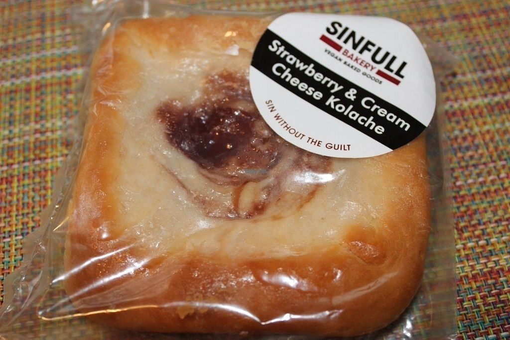 """Photo of Sinfull Bakery  by <a href=""""/members/profile/veggie_htx"""">veggie_htx</a> <br/>Strawberry & Cream Cheese Kolache <br/> September 18, 2016  - <a href='/contact/abuse/image/22281/176605'>Report</a>"""
