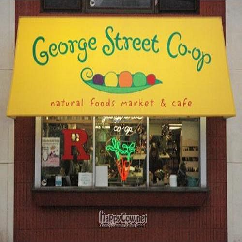 """Photo of George Street Co-op & Cafe  by <a href=""""/members/profile/George%20Street%20Co-op"""">George Street Co-op</a> <br/>Front awning of the store <br/> December 17, 2010  - <a href='/contact/abuse/image/2229/6716'>Report</a>"""