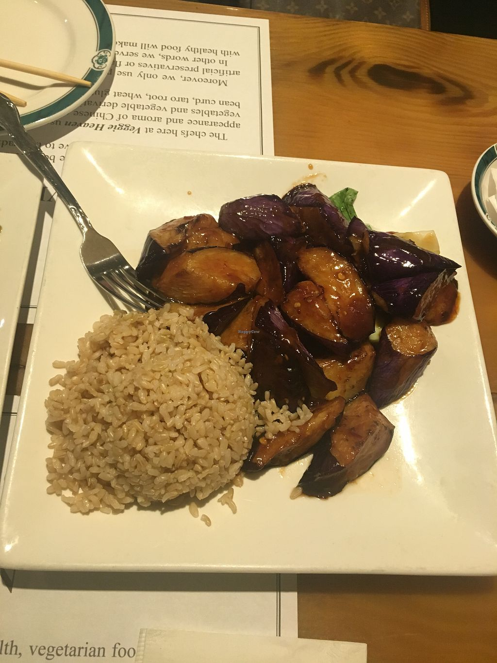 """Photo of Veggie Heaven  by <a href=""""/members/profile/770veg"""" class=""""title__title"""">770veg</a> <br/>Eggplant garlic sauce <br/> August 10, 2018  - <a href='/contact/abuse/image/2231/447217'>Report</a>"""