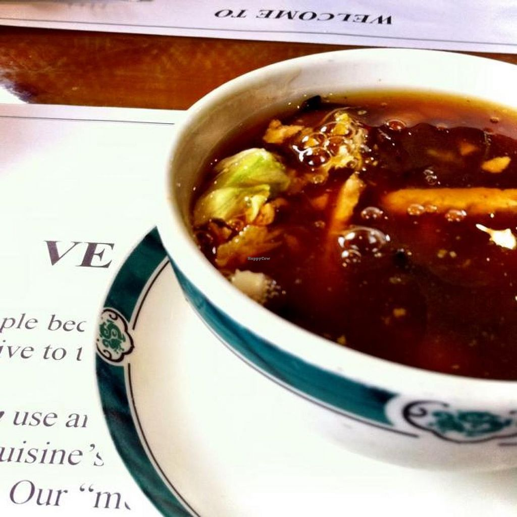 """Photo of Veggie Heaven  by <a href=""""/members/profile/KatelynCalautti"""" class=""""title__title"""">KatelynCalautti</a> <br/>Hot and sour soup <br/> July 19, 2014  - <a href='/contact/abuse/image/2231/74497'>Report</a>"""