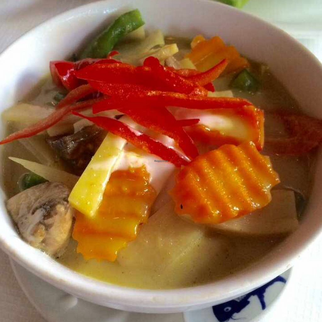"""Photo of Thai Village  by <a href=""""/members/profile/CiaraSlevin"""">CiaraSlevin</a> <br/>vegetable green Thai curry  <br/> August 15, 2015  - <a href='/contact/abuse/image/22338/113676'>Report</a>"""