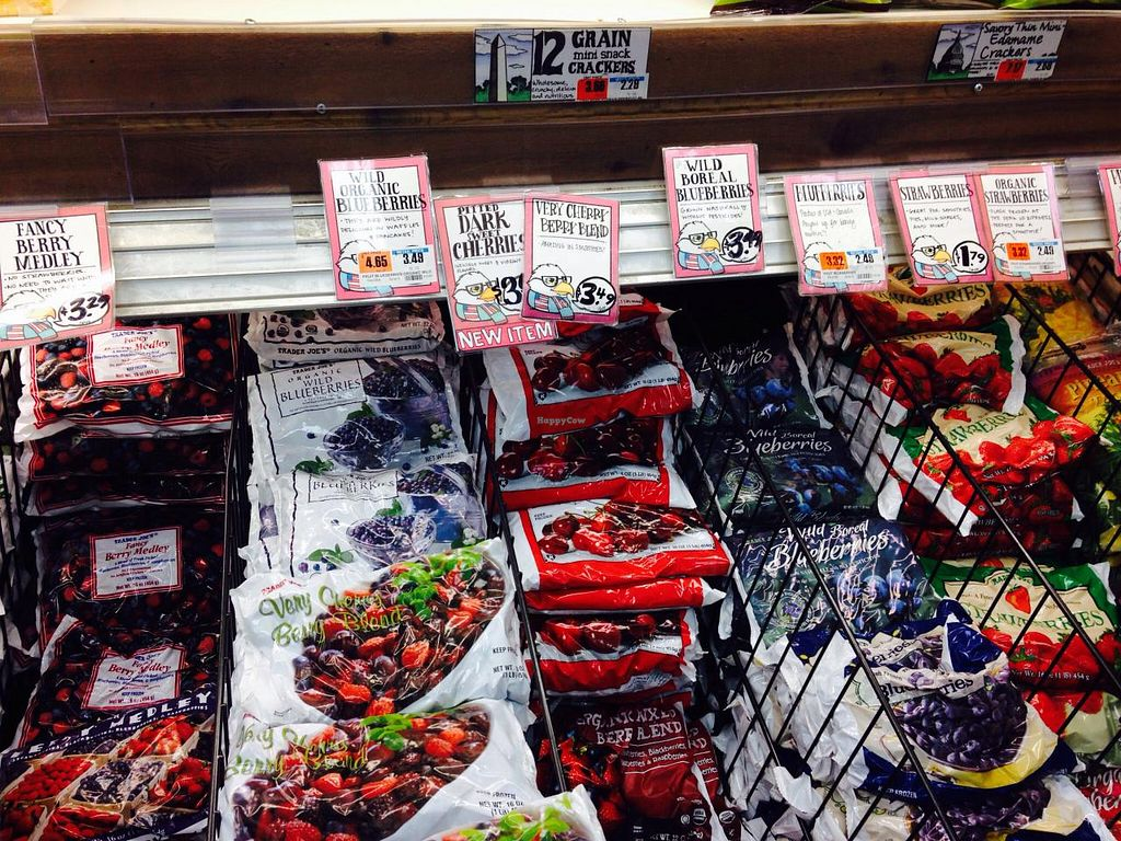 """Photo of Trader Joe's - 25th St  by <a href=""""/members/profile/cookiem"""">cookiem</a> <br/>Smoothie ingredients? <br/> April 9, 2015  - <a href='/contact/abuse/image/22404/98443'>Report</a>"""