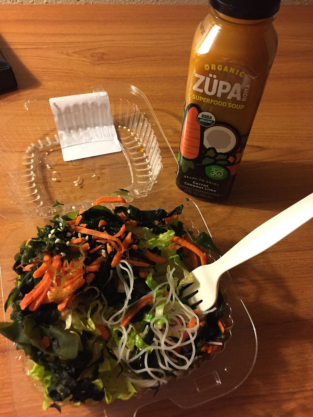 """Photo of La Montanita Co-op - Nob Hill  by <a href=""""/members/profile/chris1"""">chris1</a> <br/>Rice noodle salad  <br/> December 11, 2017  - <a href='/contact/abuse/image/2242/334535'>Report</a>"""