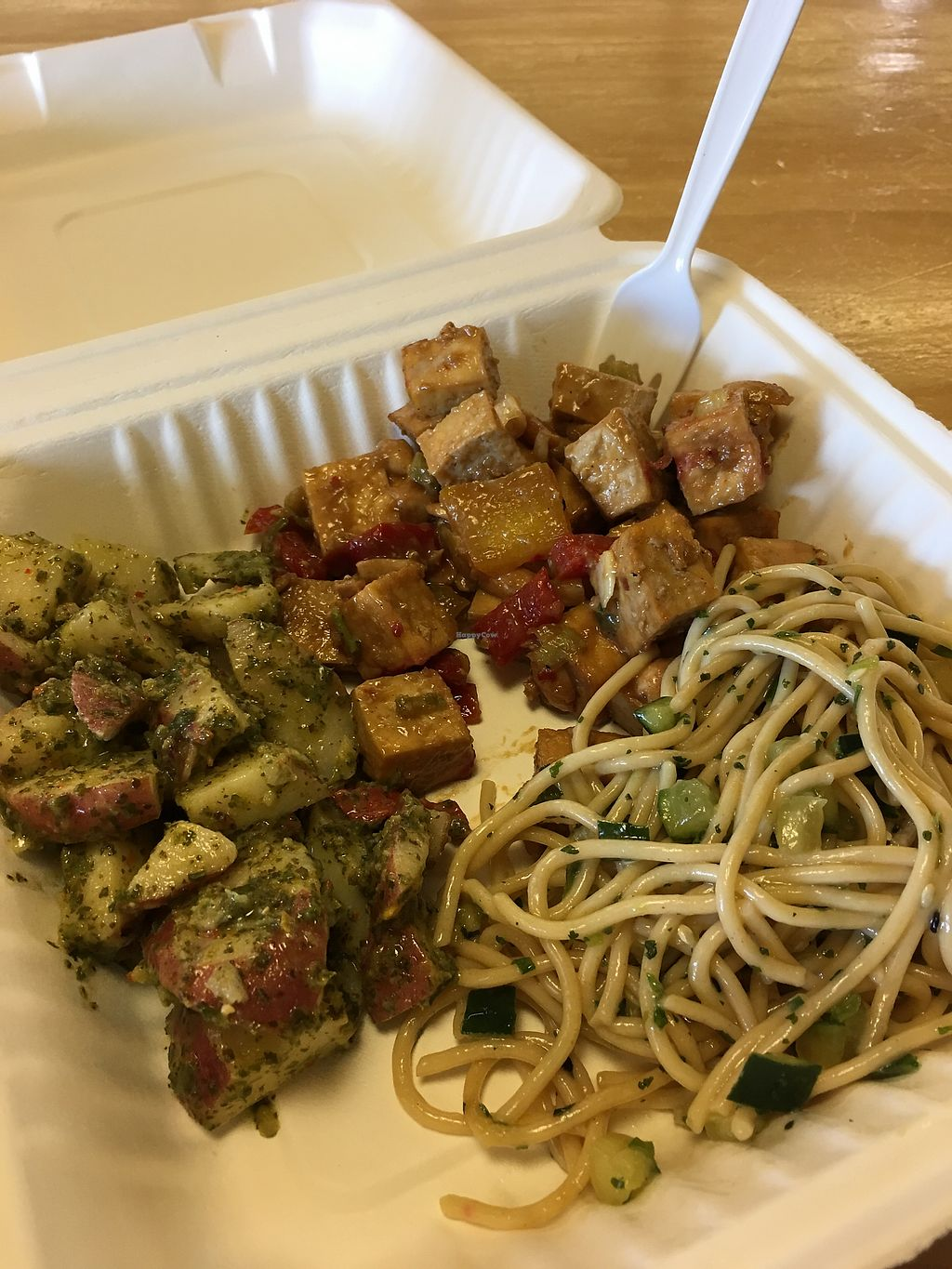 "Photo of Whole Foods Market - Indian School Plaza  by <a href=""/members/profile/s7345565"">s7345565</a> <br/>$8 meal deal - vegan kung pao tofu & vegan sides <br/> June 25, 2017  - <a href='/contact/abuse/image/2246/273395'>Report</a>"