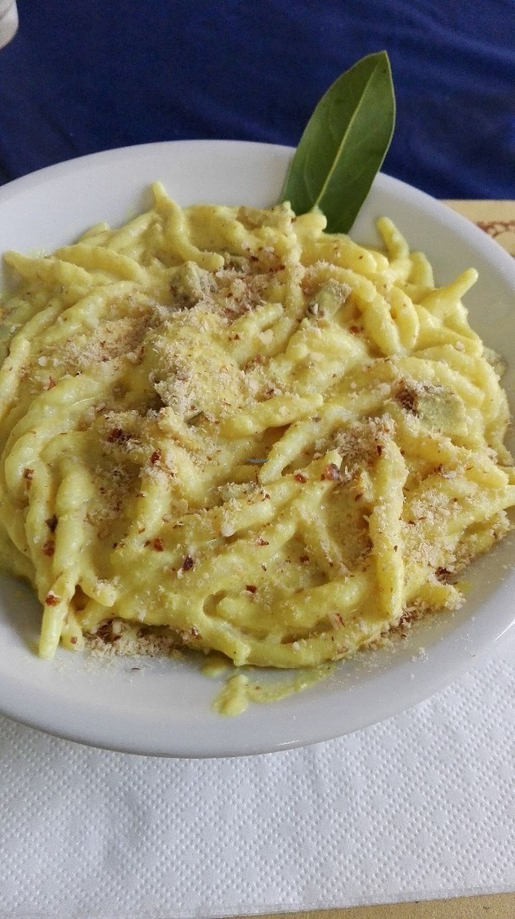 """Photo of Veg and Veg  by <a href=""""/members/profile/VanessaJacques"""">VanessaJacques</a> <br/>Carbonara pasta. So creamy and perfect! <br/> March 22, 2017  - <a href='/contact/abuse/image/22503/239398'>Report</a>"""
