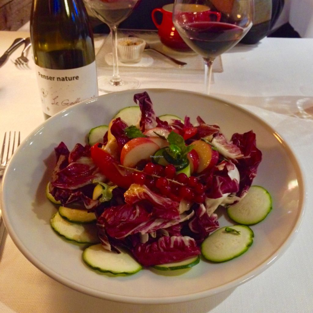 """Photo of L'Impossible  by <a href=""""/members/profile/Sarafink0511"""">Sarafink0511</a> <br/>delicious salad <br/> September 10, 2015  - <a href='/contact/abuse/image/22560/117270'>Report</a>"""