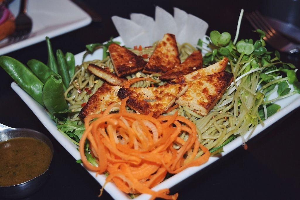 """Photo of Eatcetera  by <a href=""""/members/profile/PlantPrincesa"""">PlantPrincesa</a> <br/>Green tea soba noodles <br/> December 30, 2016  - <a href='/contact/abuse/image/22577/206314'>Report</a>"""