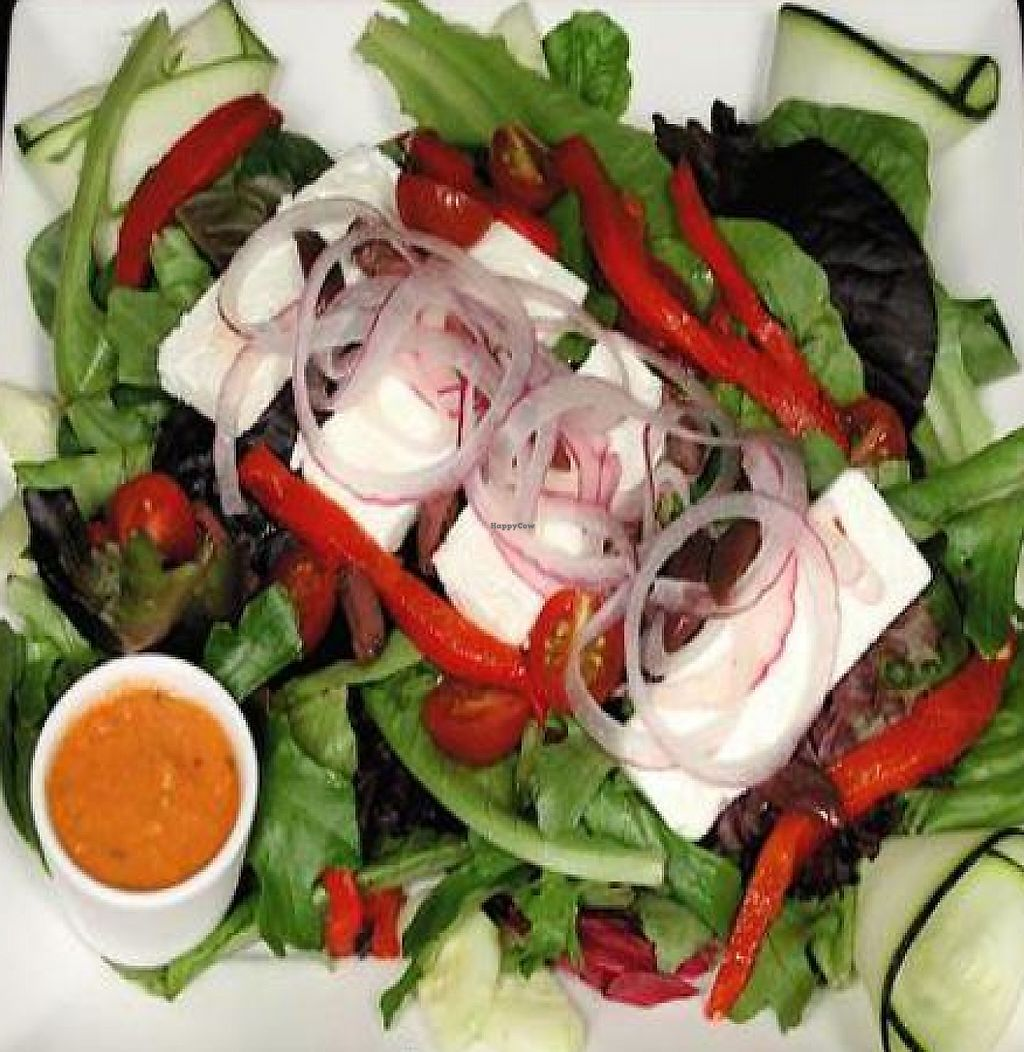 """Photo of Eatcetera  by <a href=""""/members/profile/Andrea800"""">Andrea800</a> <br/>Greek Feta Salad with Sundried Tomato Dressing <br/> March 23, 2011  - <a href='/contact/abuse/image/22577/228050'>Report</a>"""