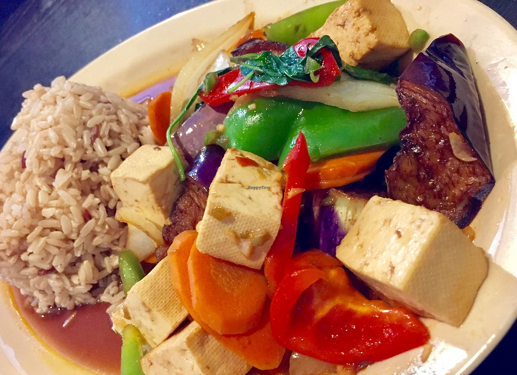 "Photo of Top Thai  by <a href=""/members/profile/SFRobbie"">SFRobbie</a> <br/>eggplant and basil with soft tofu <br/> August 2, 2017  - <a href='/contact/abuse/image/22587/288065'>Report</a>"