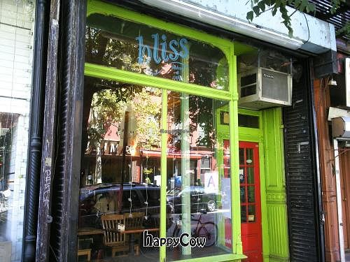 "Photo of CLOSED: Bliss Cafe  by <a href=""/members/profile/happycowgirl"">happycowgirl</a> <br/>storefront <br/> September 10, 2012  - <a href='/contact/abuse/image/2258/37769'>Report</a>"