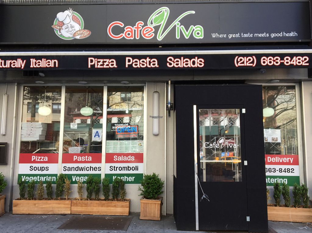 """Photo of Cafe Viva Gourmet Pizza  by <a href=""""/members/profile/JJones315"""">JJones315</a> <br/>Store Front <br/> April 23, 2017  - <a href='/contact/abuse/image/2259/251439'>Report</a>"""