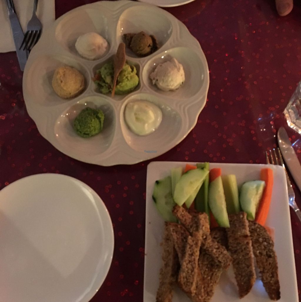 "Photo of Caravan of Dreams  by <a href=""/members/profile/MeganSpoerndle"">MeganSpoerndle</a> <br/>veggie sampler plate <br/> March 23, 2017  - <a href='/contact/abuse/image/2261/240010'>Report</a>"