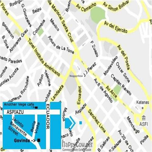 """Photo of Govinda's  by <a href=""""/members/profile/danielpoland"""">danielpoland</a> <br/>On the corner of Ecuador and Aspiazu Street you can find another Vege Cafe - restaurant. Govinda is 5 minutes up from that place.  <br/> November 17, 2010  - <a href='/contact/abuse/image/22834/6345'>Report</a>"""