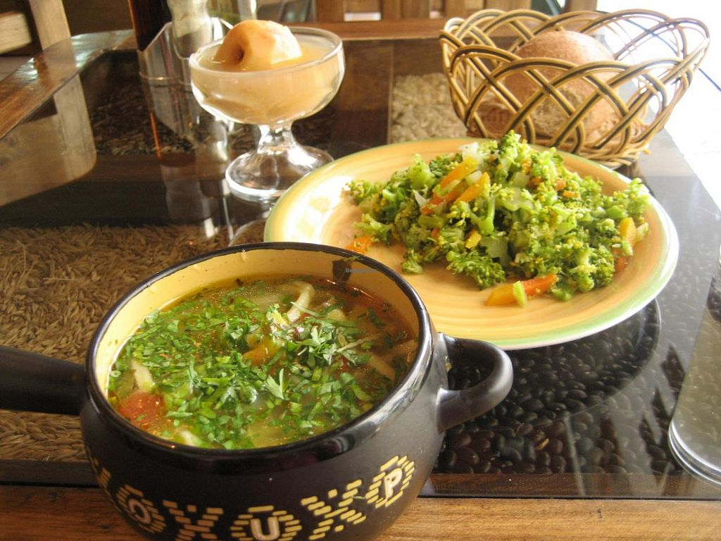 """Photo of Govinda's  by <a href=""""/members/profile/Md81"""">Md81</a> <br/>Salad, soup, bread, dessert, refreshment, May 2014 <br/> January 15, 2015  - <a href='/contact/abuse/image/22834/90407'>Report</a>"""