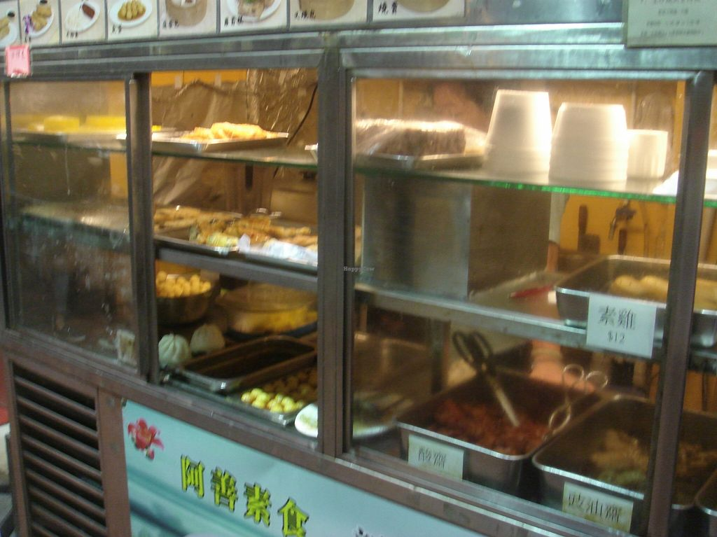 """Photo of Ah Sin Vegetarian - temporarily closed  by <a href=""""/members/profile/nafanc"""">nafanc</a> <br/>Food counter <br/> January 4, 2016  - <a href='/contact/abuse/image/22844/131071'>Report</a>"""