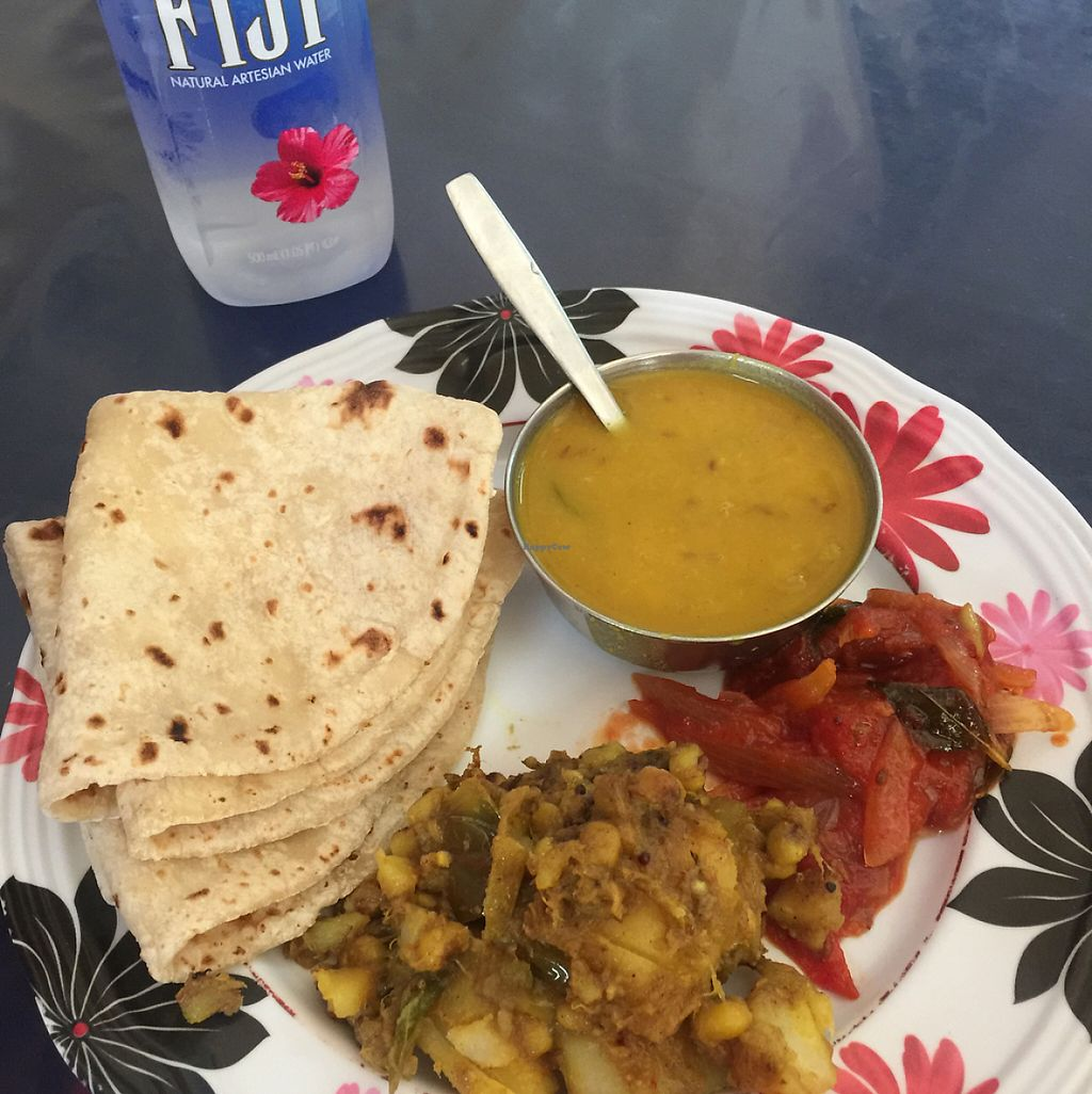 "Photo of Go Koos Hot Snaxs  by <a href=""/members/profile/M%20A%20N%20U"">M A N U</a> <br/>vegetable curry and dal soup with roti (3,50 FID) <br/> May 17, 2017  - <a href='/contact/abuse/image/22891/259600'>Report</a>"